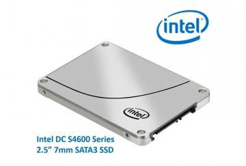 Ổ cứng SSD 480GB Intel DC S4600 Series 2.5in SATA 6Gb/s, 3D1, TLC
