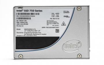 Ổ cứng SSD 400GB Intel SSD 750 Series 2.5in PCIe 3.0, 20nm, MLC