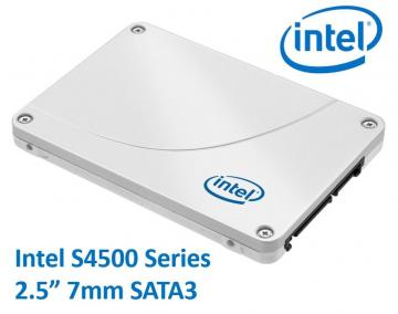 Ổ cứng SSD 240GB Intel DC S4500 Series 2.5in SATA 6Gb/s, 3D1, TLC